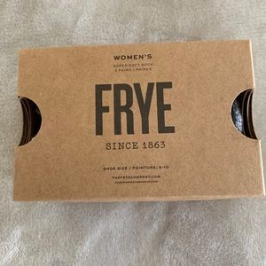 Frye pack of two soft socks
